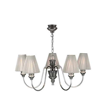 Doreen Pewter 5 Light Pendant